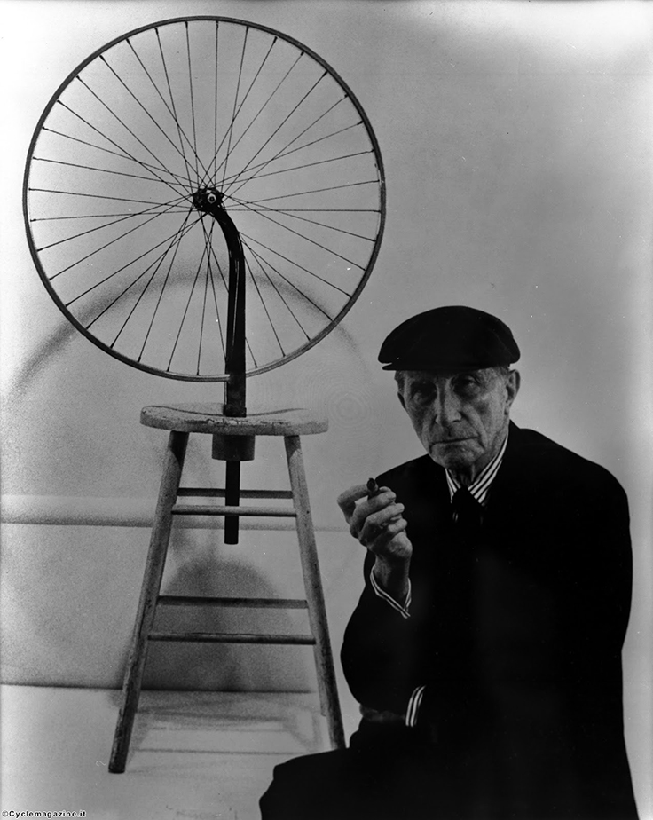 18 Marcel Duchamp bicycle wheel IMAGE